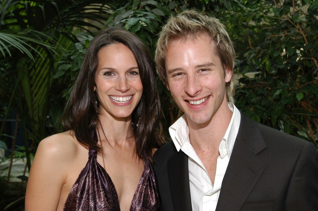 Ambassador Chesney Hawkes with his wife Chrissy